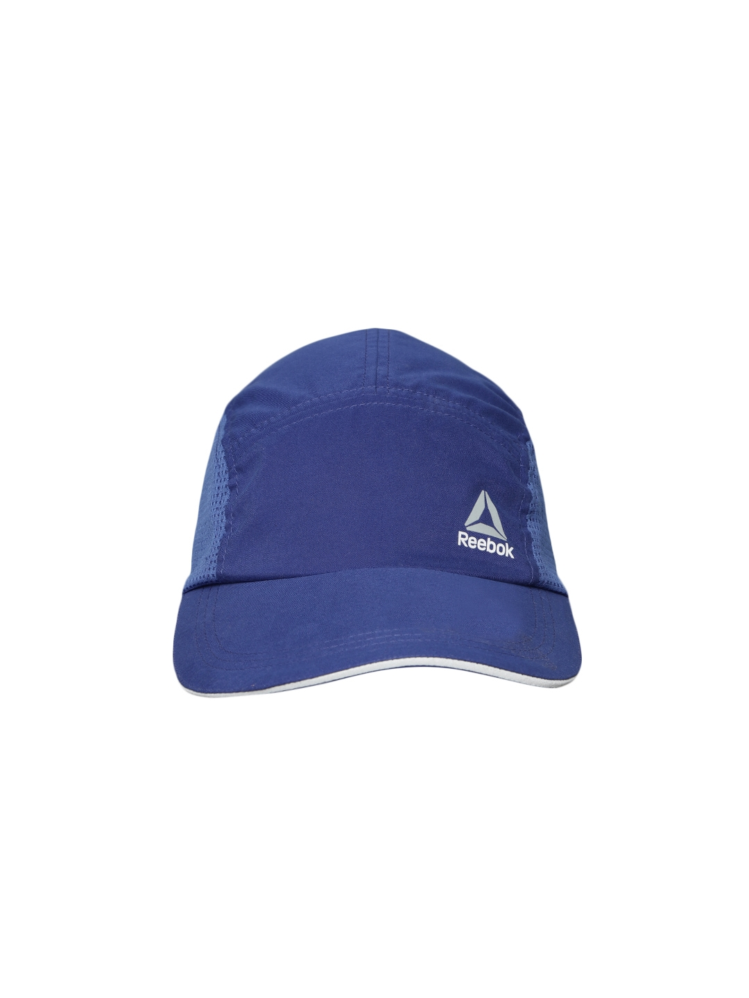 Buy Reebok Unisex Blue OS PERF Solid Running Cap - Caps for Unisex ... 6f0af71bd5f
