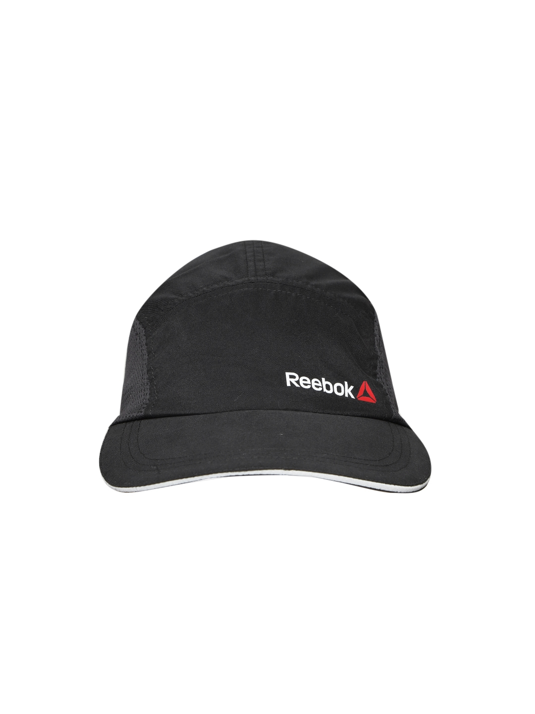 Buy Reebok Unisex Black OS PERF Solid Running Cap - Caps for Unisex ... 712081aa142