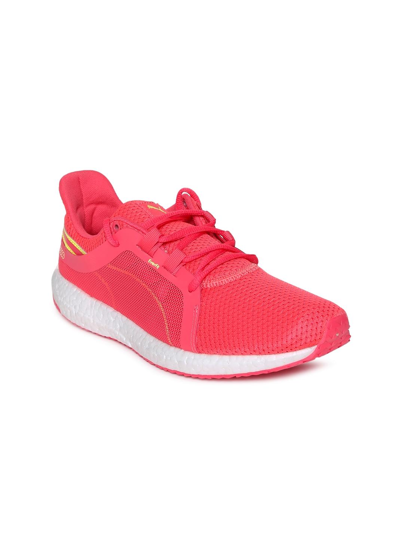 8edd9eb3da0 Buy Puma Women Pink Mega NRGY Turbo 2 Wns Running Shoes - Sports ...