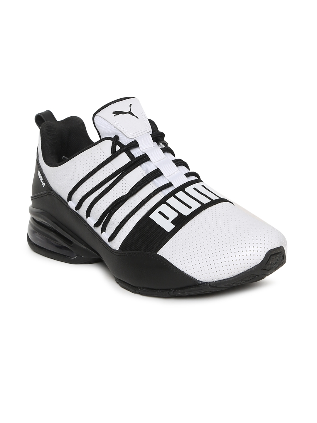 e2ea95992779d5 Buy Puma Men White   Black Cell Regulate SL Sports Running Shoes ...
