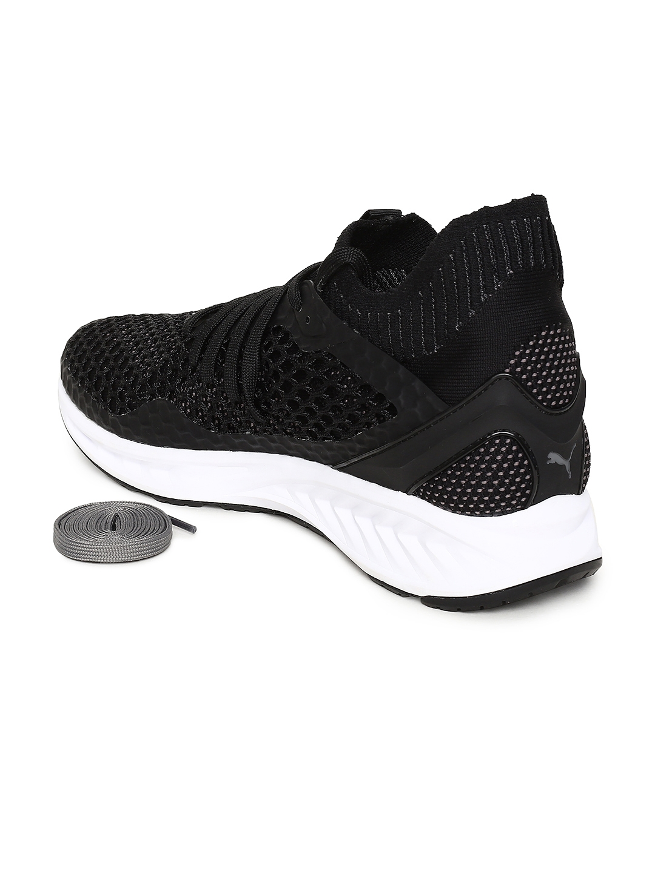 a11ec0e1598 Buy Puma Men Black IGNITE NETFIT Sports Running Shoes - Sports Shoes ...