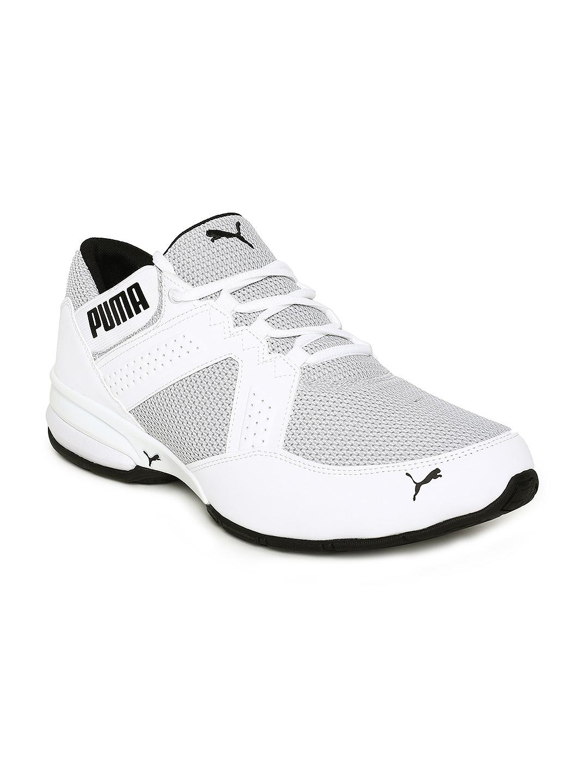 Buy Puma Men White Enzin Mesh Running Shoes - Sports Shoes for Men ... aa51b1d8f