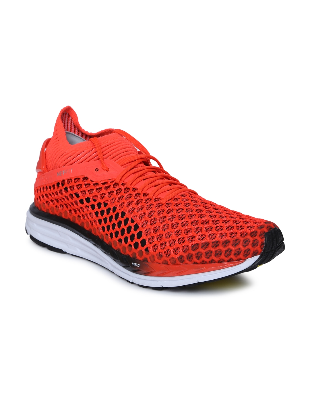 09882cee35c5d7 Buy Puma Men Red Speed IGNITE NETFIT 2 Running Shoes - Sports Shoes ...