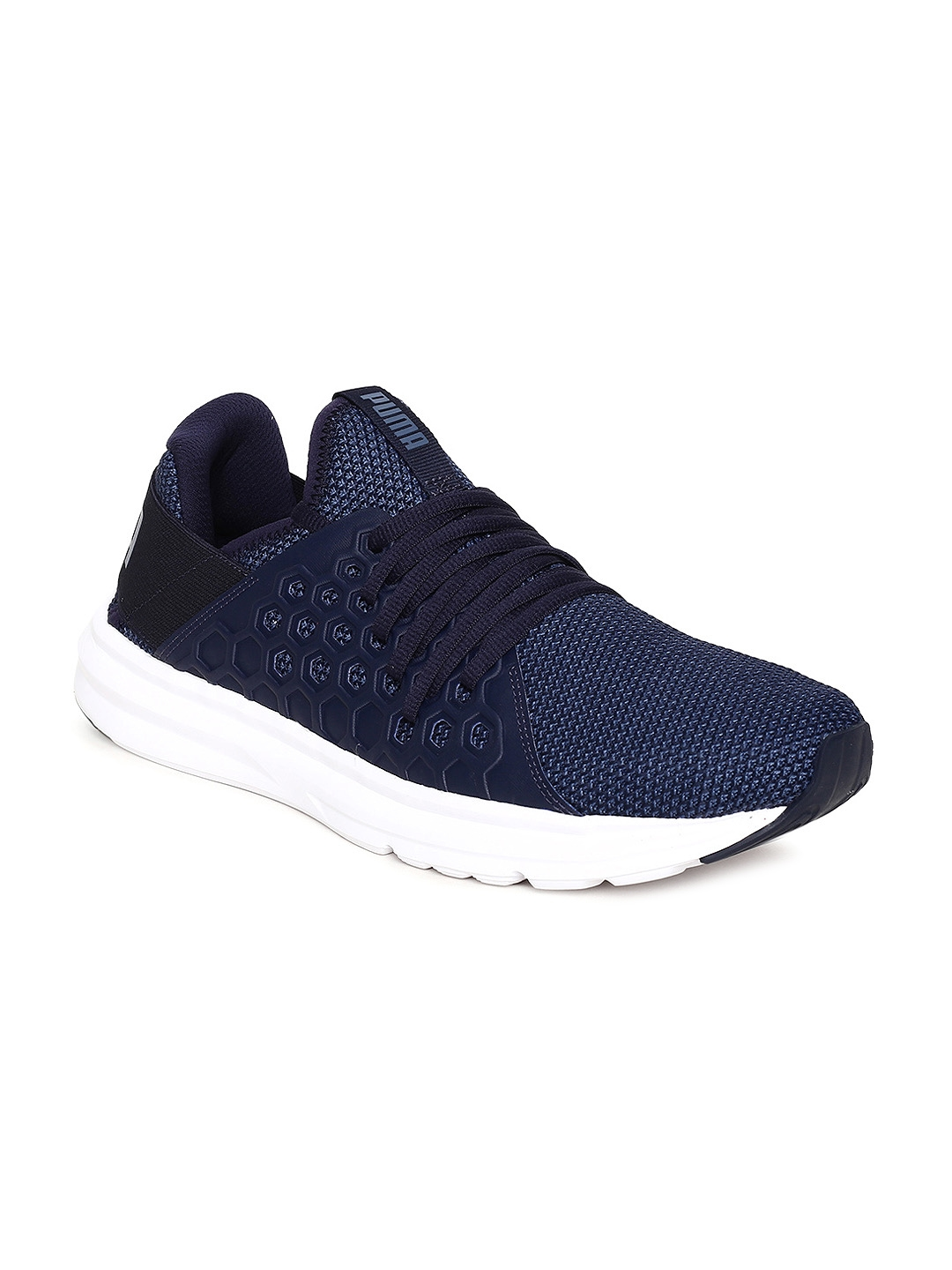 92f01fefafda Buy Puma Men Navy Blue Enzo NF Running Shoes - Sports Shoes for Men ...