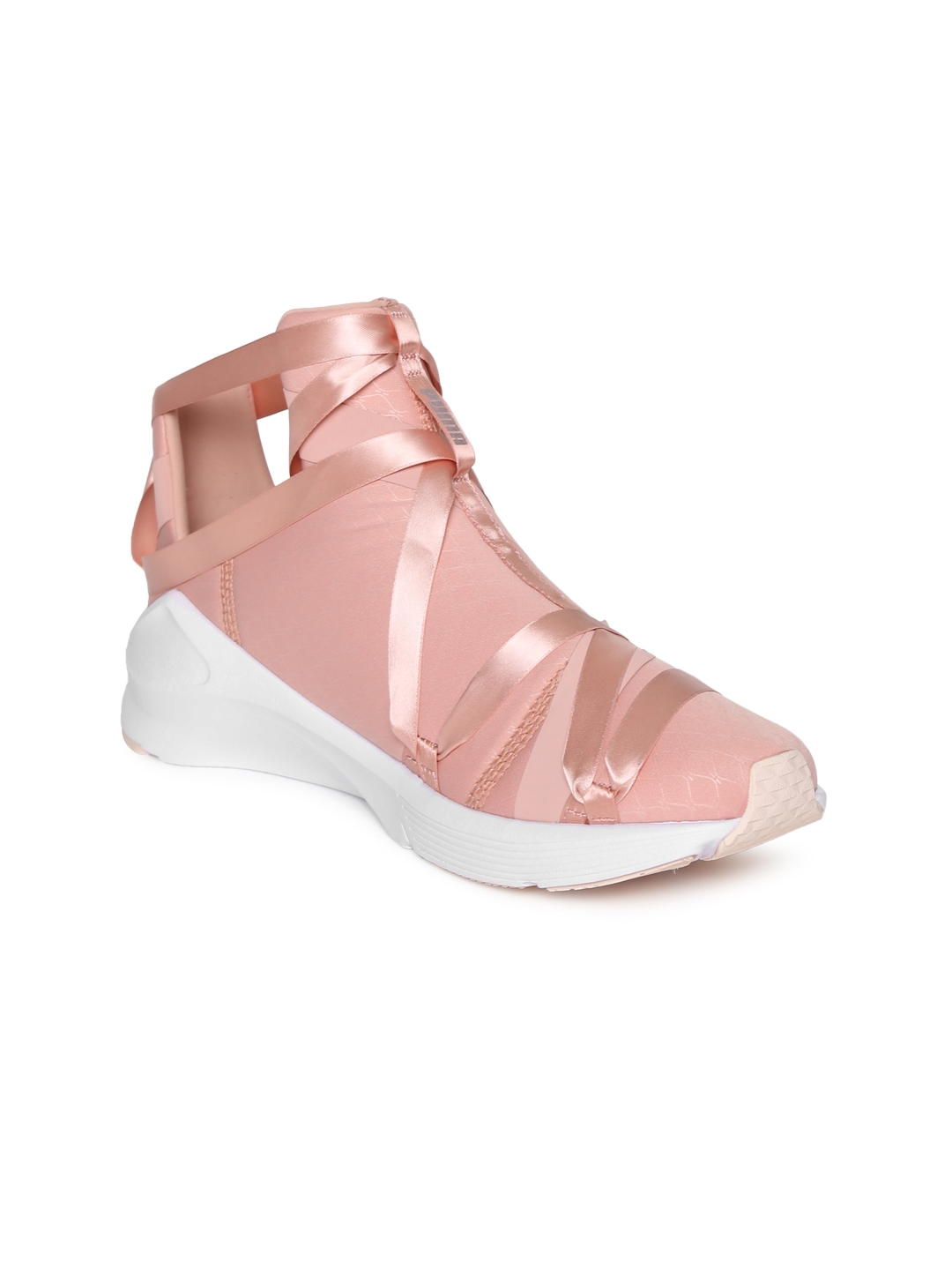 Buy Puma Women Pink Fierce Rope Satin EP Wn S Mid Top Running Shoes ... b74574c3d
