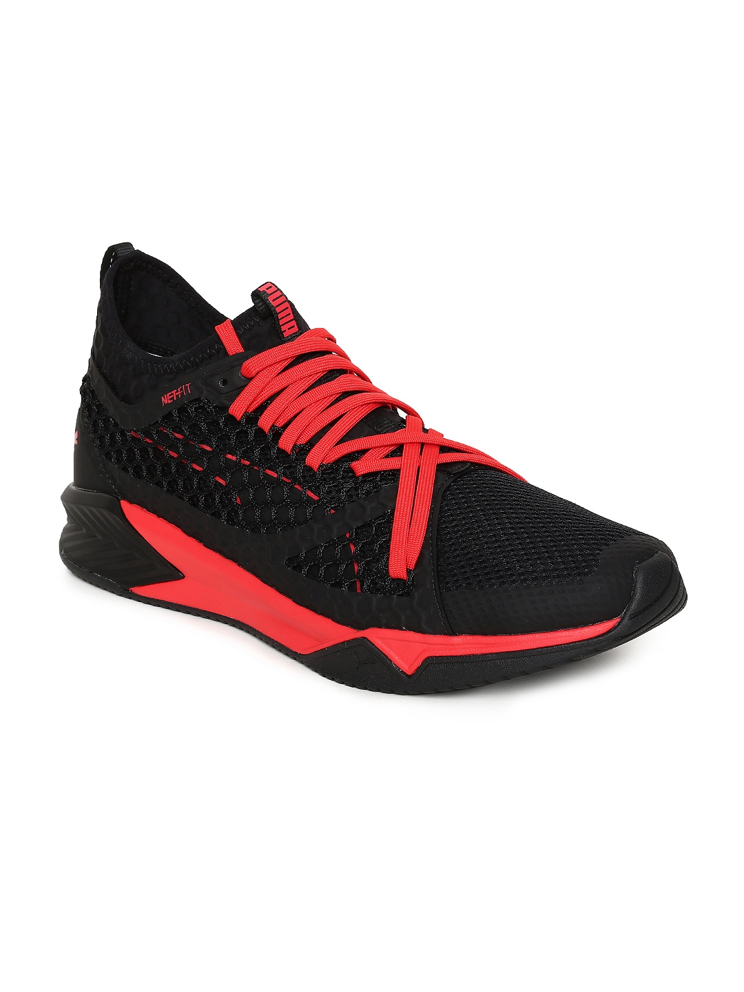 703acd00b4d Buy Puma Men Black IGNITE XT NETFIT Sports Training Shoes - Sports ...