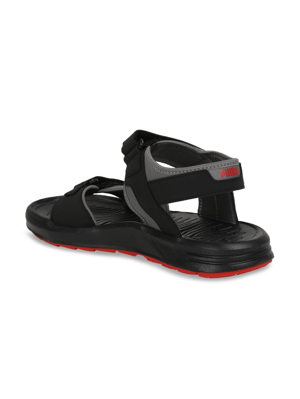 2fc2f45e62be Buy Puma Men Black Comfort Sandals - Sandals for Men 6716869