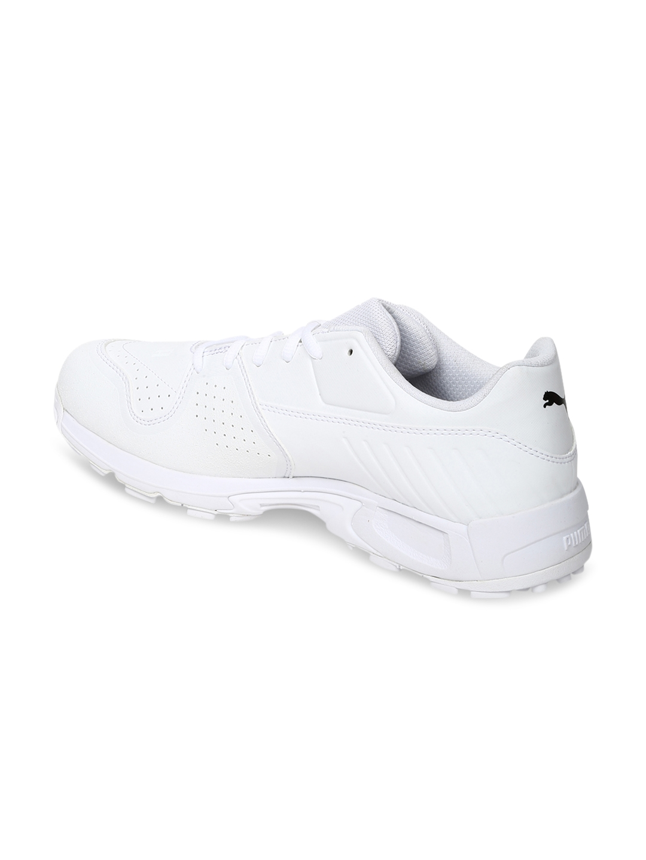 1b20fba9d4c43e Buy Puma EvoSPEED 18.1 C Spike Men White Cricket Shoes - Sports ...