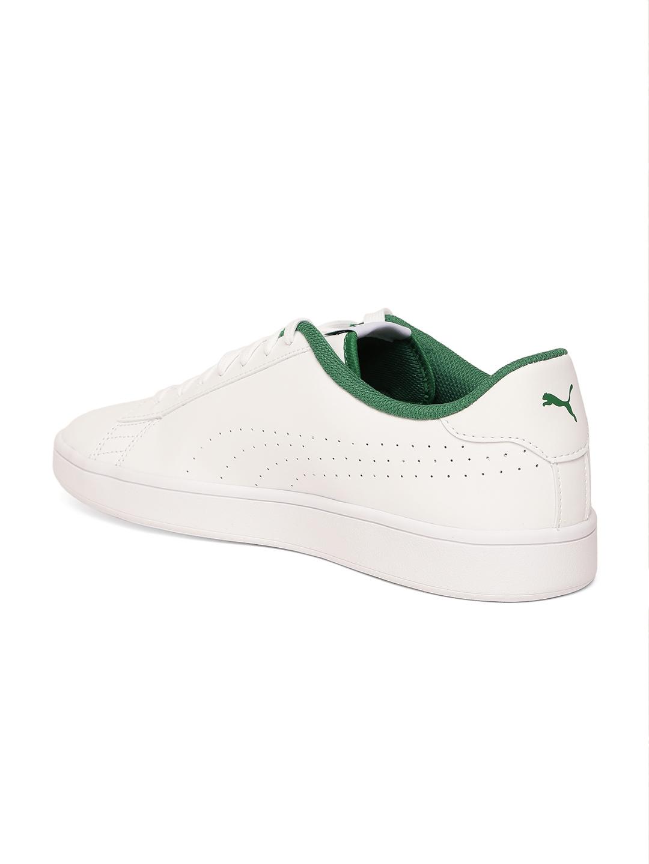 dda32141420cbe ... best price buy puma men white sneakers casual shoes for men 6739045  myntra ba725 3b678