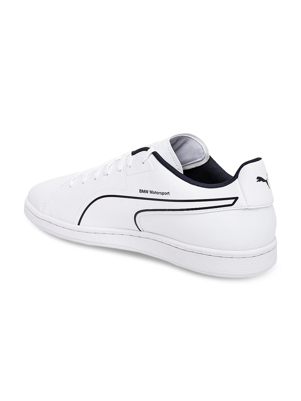 591da2924b5 Buy Puma Men White BMW MS Court S Sneakers - Casual Shoes for Men ...