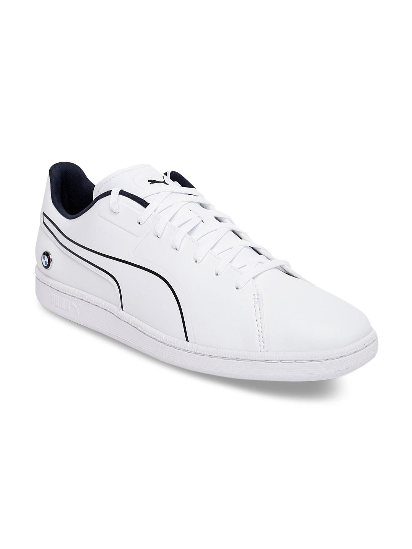 9876d826d920 Buy Puma Men White BMW MS Court S Sneakers - Casual Shoes for Men ...