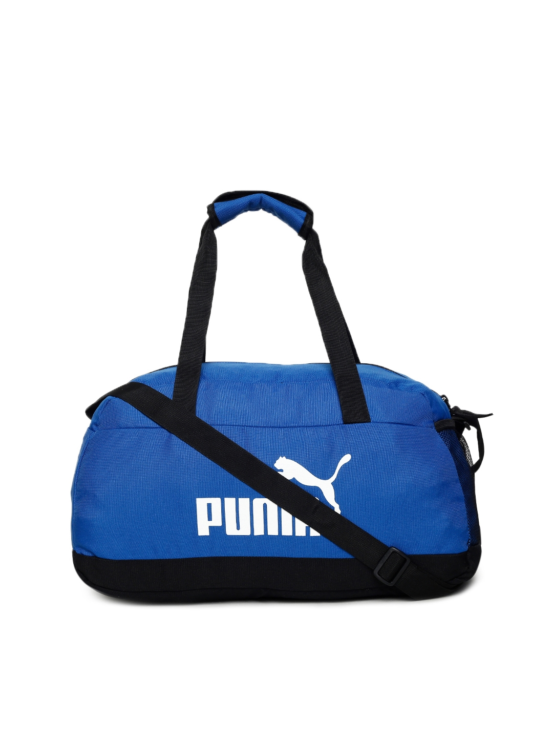 a1306c1dc6 Buy Puma Unisex Blue   Black Phase Sport Duffel Bag - Duffel Bag for ...