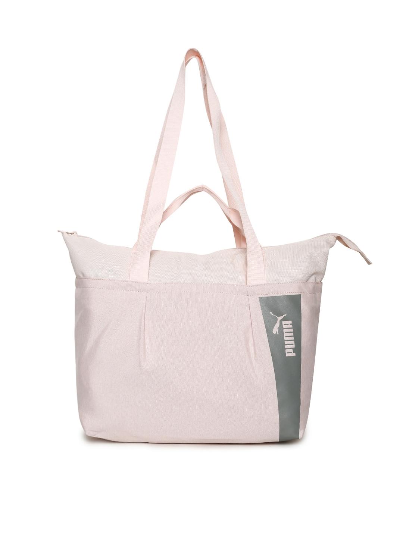 a16846e4ad Buy Puma Women Pink Solid Core Style Large Shopper Bag - Handbags ...