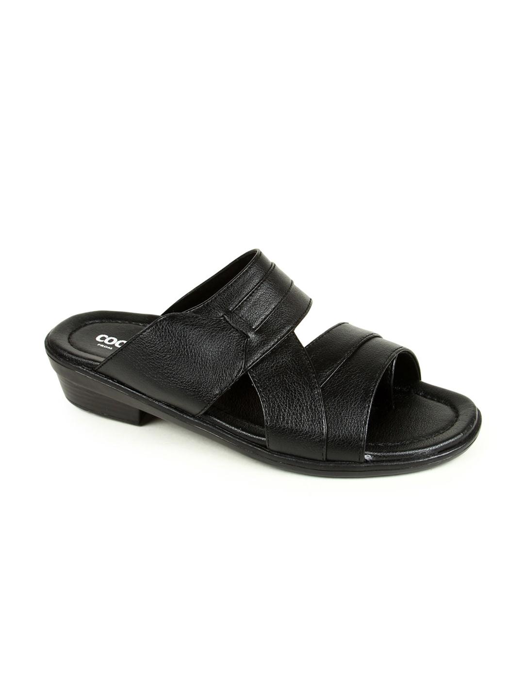 f93bfcc147c7 Buy Liberty Men Black Comfort Sandals - Sandals for Men 6741110