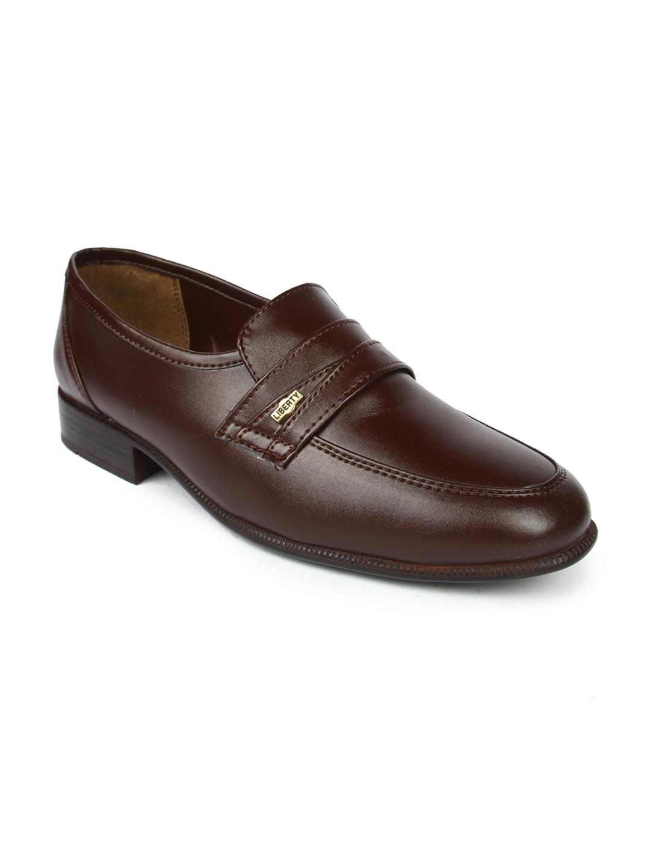 1e64f810da Buy Liberty Men Brown Semi Formal Slip On Shoes - Formal Shoes for ...