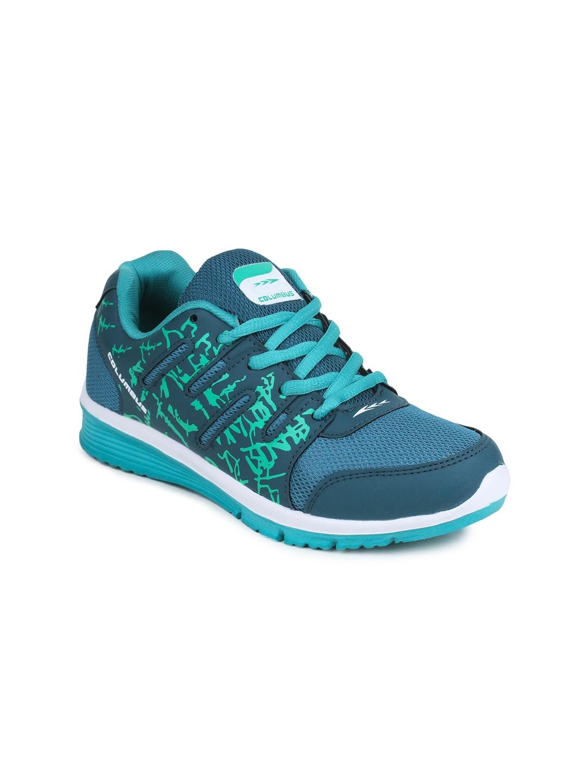 Columbus Women Green Running Shoes