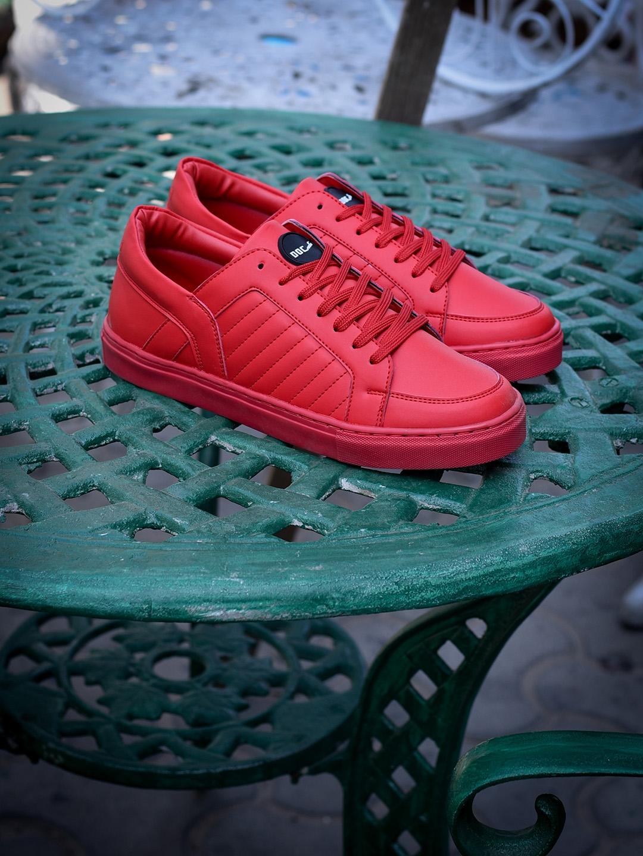 Buy Doc Martin Men Red Sneakers