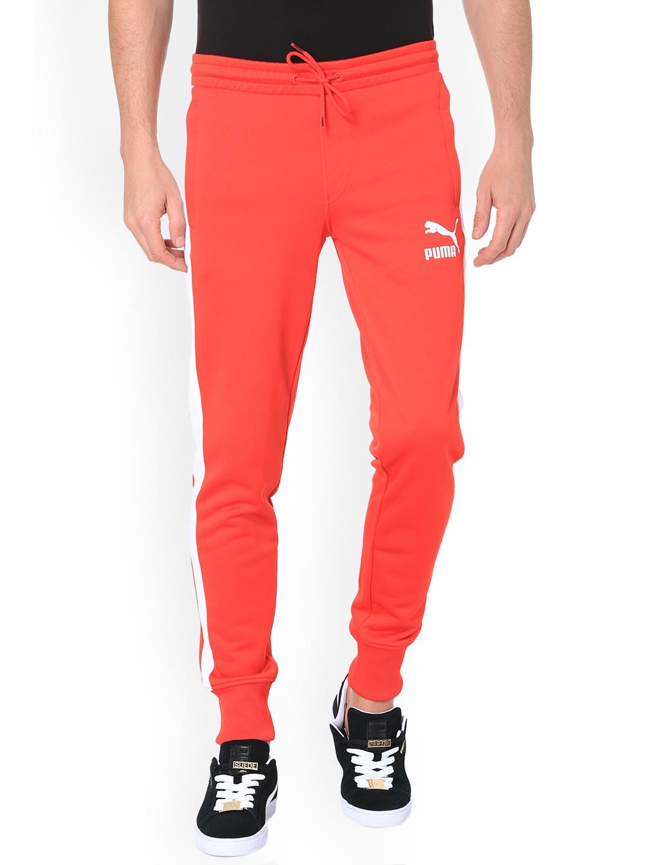 02283d1c149a Buy Puma Men Red Archive T7 Joggers - Track Pants for Men 6745546 ...