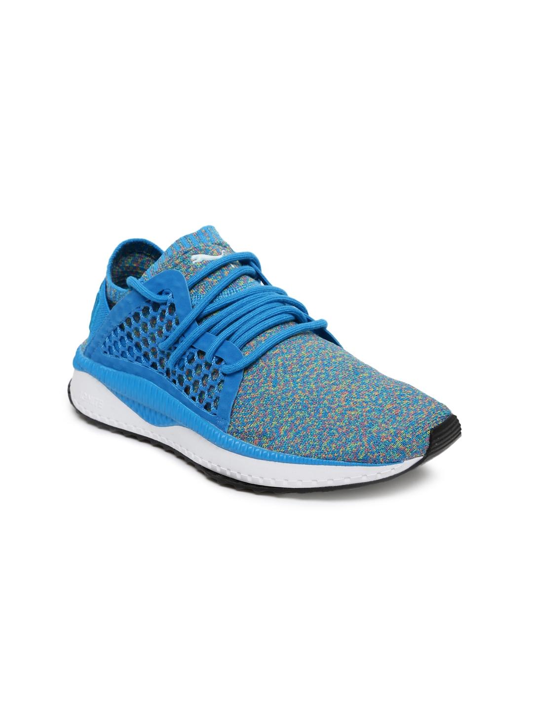 innovative design 2ba1e 9c312 Puma Unisex Blue TSUGI NETFIT evoKNIT Training Shoes