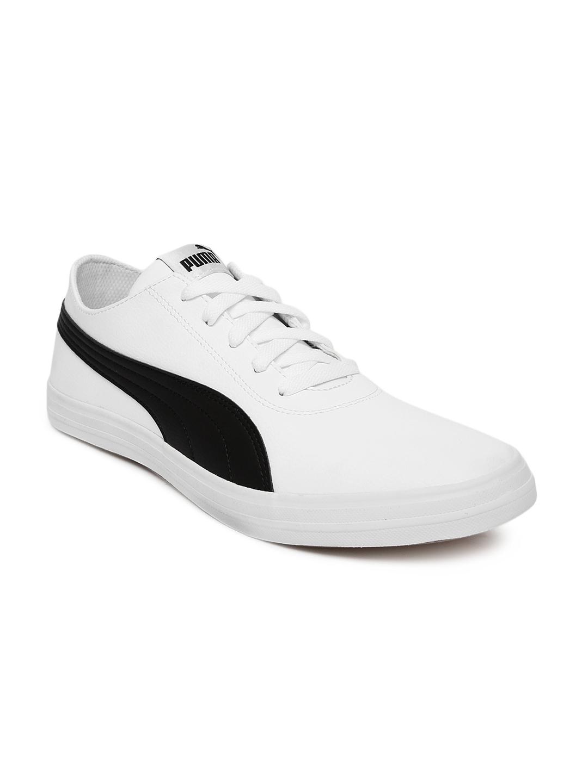 c3089fdb31d2 Buy Puma Unisex Black   White Urban SL IDP Sneakers - Casual Shoes ...