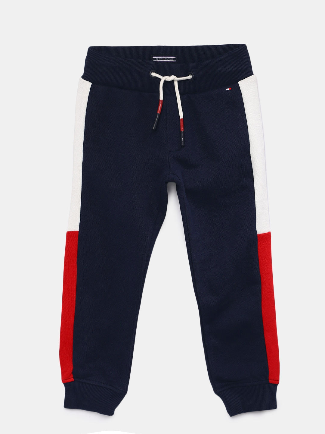 a2ab96b17c57 Buy Tommy Hilfiger Boys Navy Blue Joggers - Track Pants for Boys ...