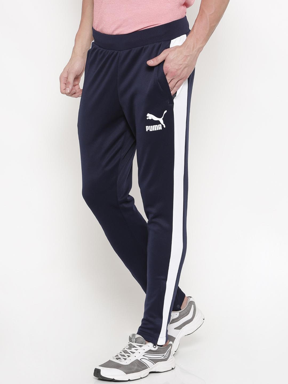 679ddb9edbf3 Buy Puma Men Navy Blue T7 Vintage Track Pant - Track Pants for Men ...