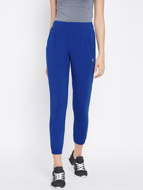 8ebc1d8d84a9 Buy C9 Women Blue Solid Joggers - Track Pants for Women 6766043