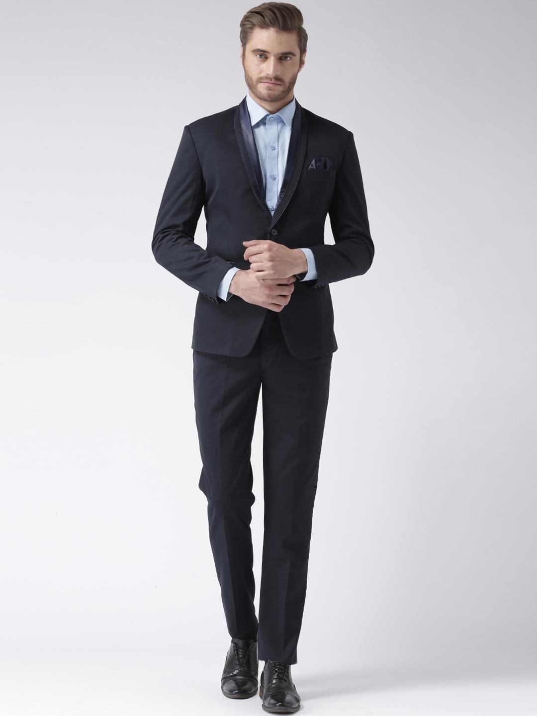 433d7c31336 Buy HANGUP Men Blue Suit - Suits for Men 6766487