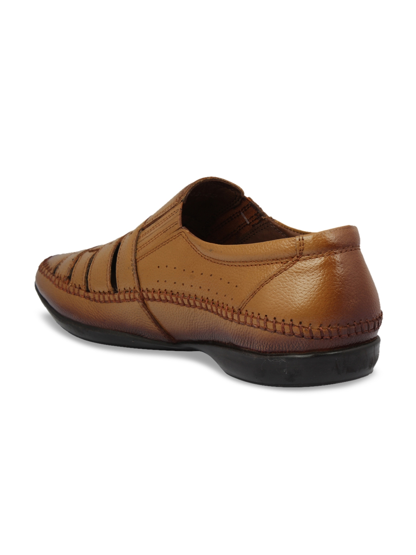 e26acb761e51 Buy Pelle Albero Men Tan Fisherman Leather Sandals - Sandals for Men ...
