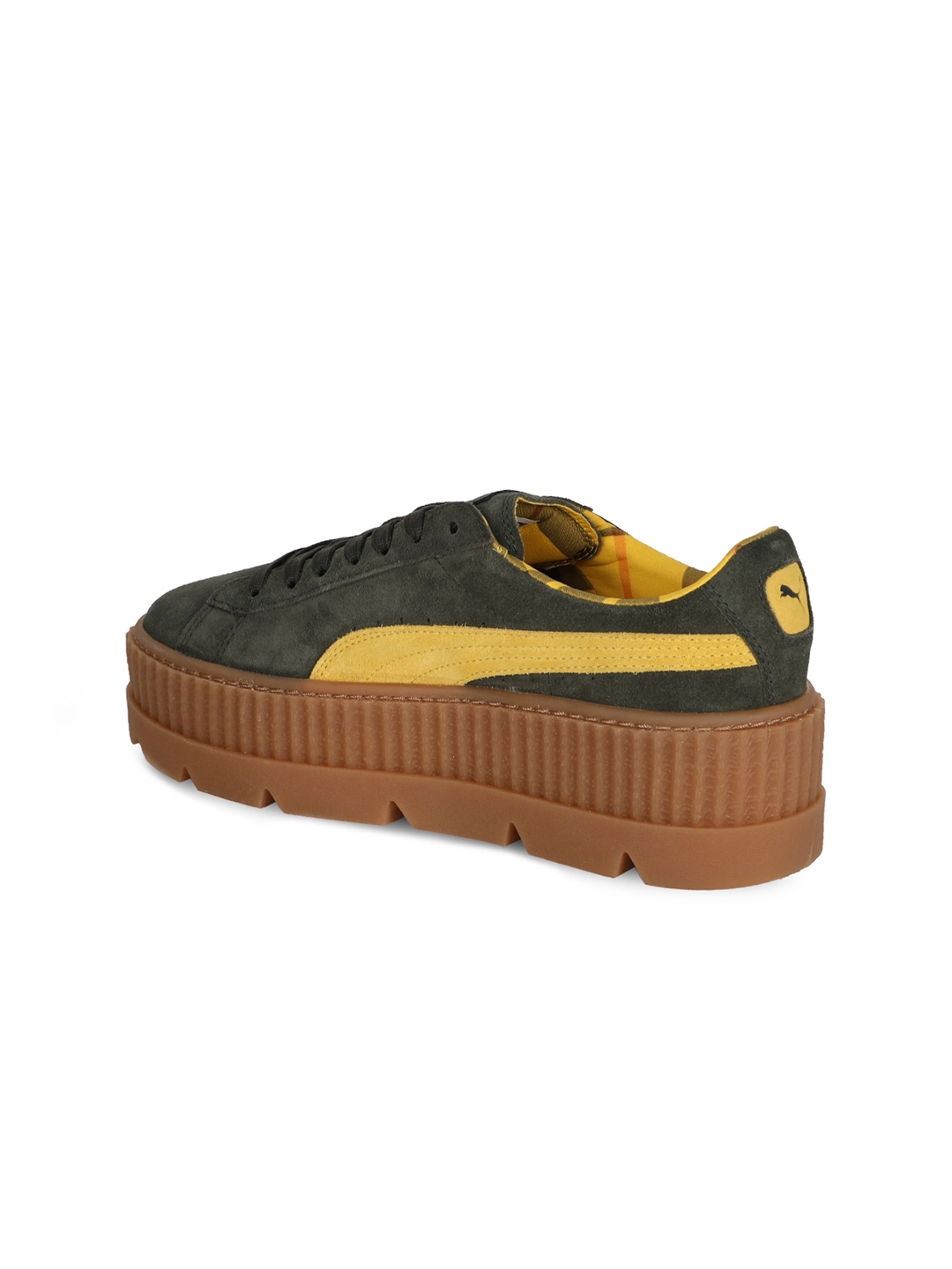 3a58f68c175 Buy Puma Women Olive Green Cleated Creeper Suede Wn S Sneakers ...