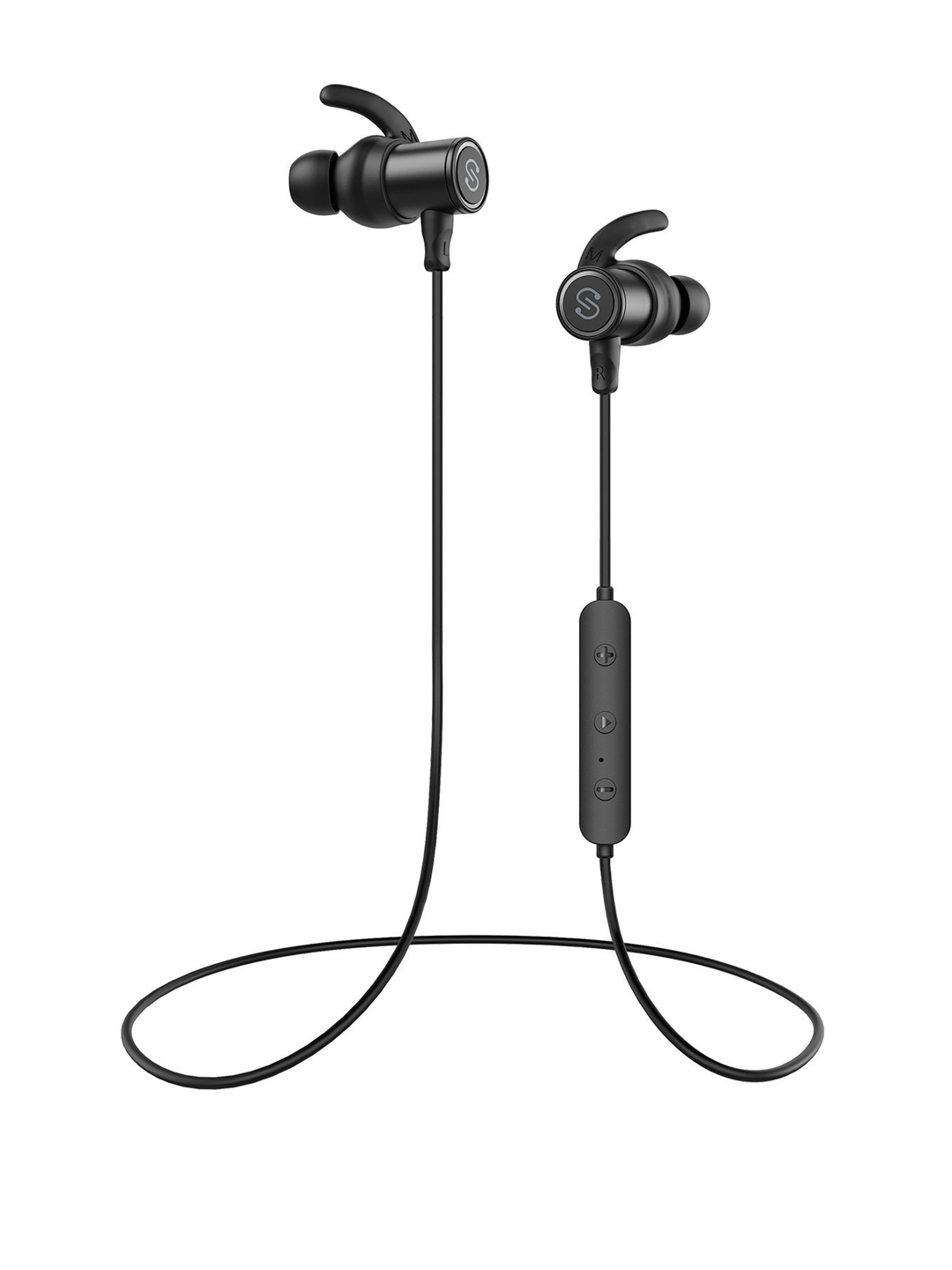 3a580df3375 SoundPEATS Q30 Black Magnetic Wireless IN-EAR Bluetooth Headphones with Mic