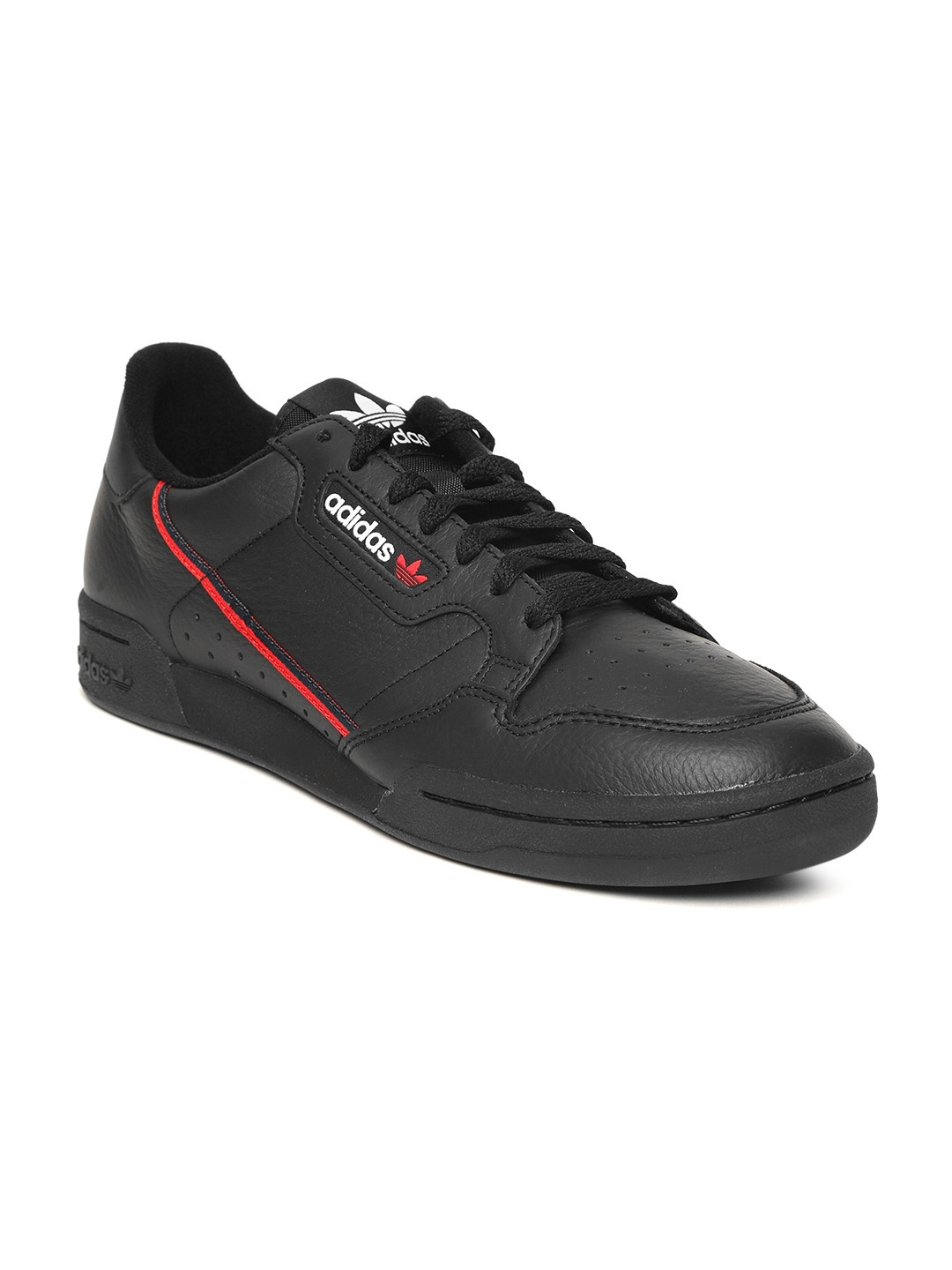 6a58b11f6119 Buy ADIDAS Originals Men Black Continental 80 Sneakers - Casual ...