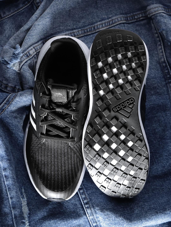 51453826832005 Buy ADIDAS Kids Black Rapidarun Knit J Running Shoes - Sports Shoes ...