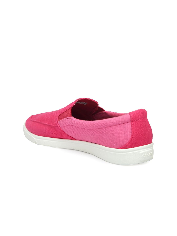 4cde15612267f1 Buy Crocs Women Pink Slip On Sneakers - Casual Shoes for Women ...