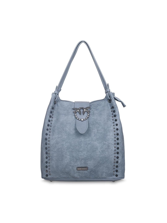 72a5a908ea Buy ESBEDA Blue Solid Tote Bag - Handbags for Women 6806644