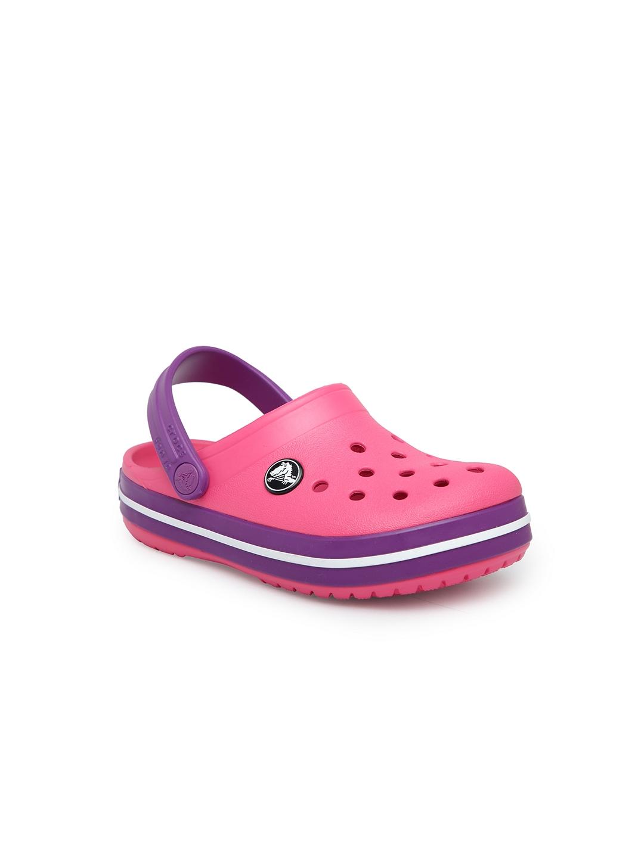 9529192c4f45 Buy Crocs Girls Pink Clogs - Sandals for Girls 6809508