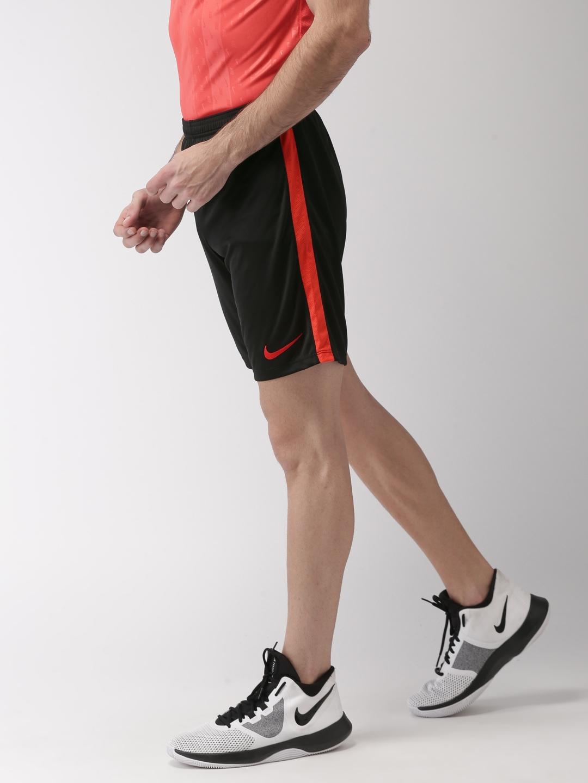 sports shoes 90717 9cdf3 Nike Men Black Slim Fit Dry Academy Football Shorts