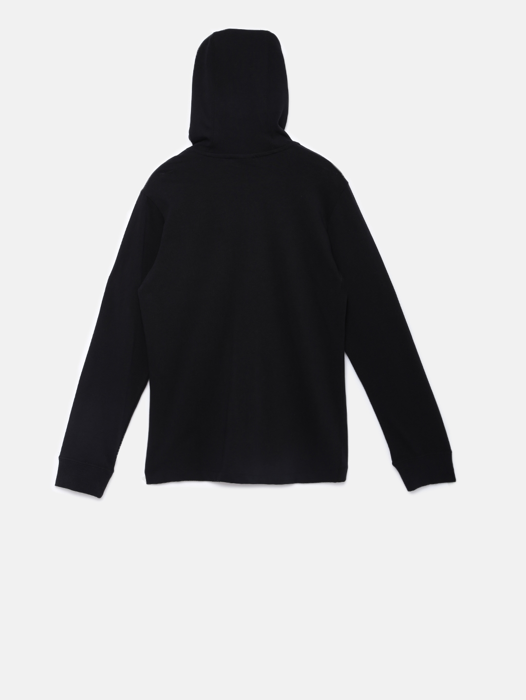 Buy Nike Boys Black Solid Sweatshirt - Sweatshirts for Boys 6813986 ... 3e35b89d63