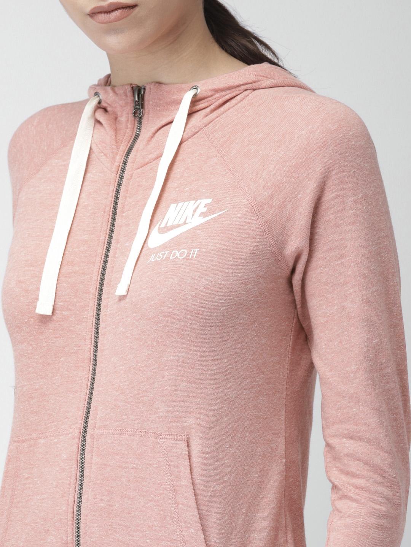 51af7746138b Buy Nike Women Pink AS W NSW GYM VNTG HOODIE FZ Sporty Jacket ...