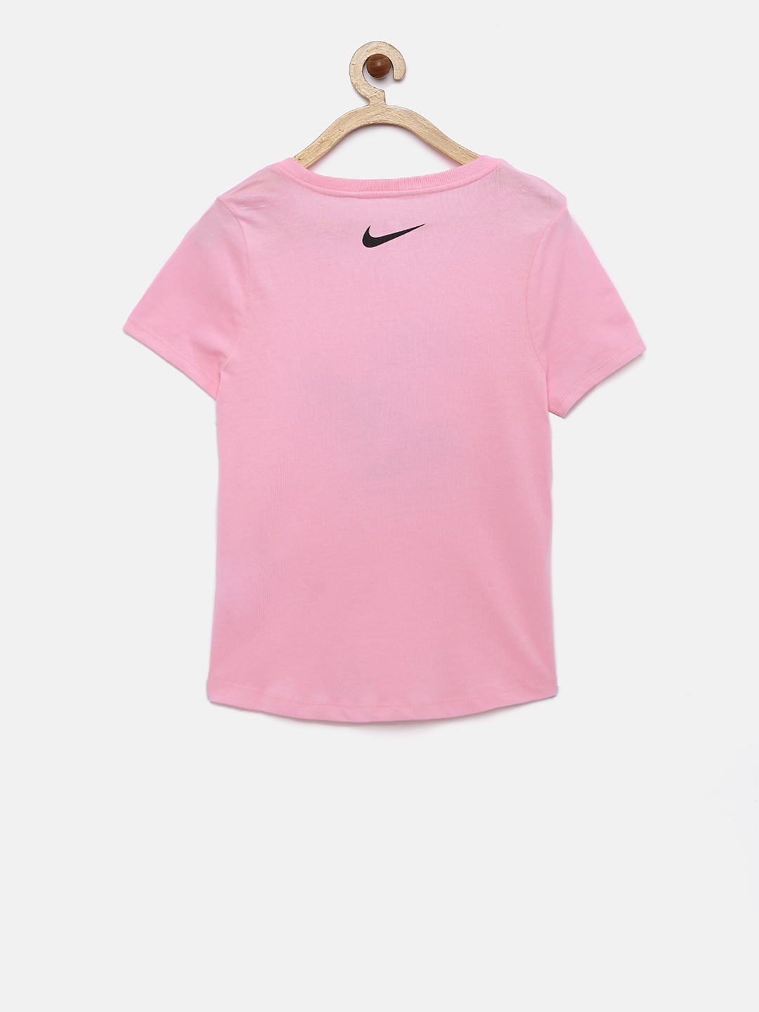 68a69121 Buy Nike Girls Pink ARE WE THERE T Shirt - Tops for Girls 6814023 ...