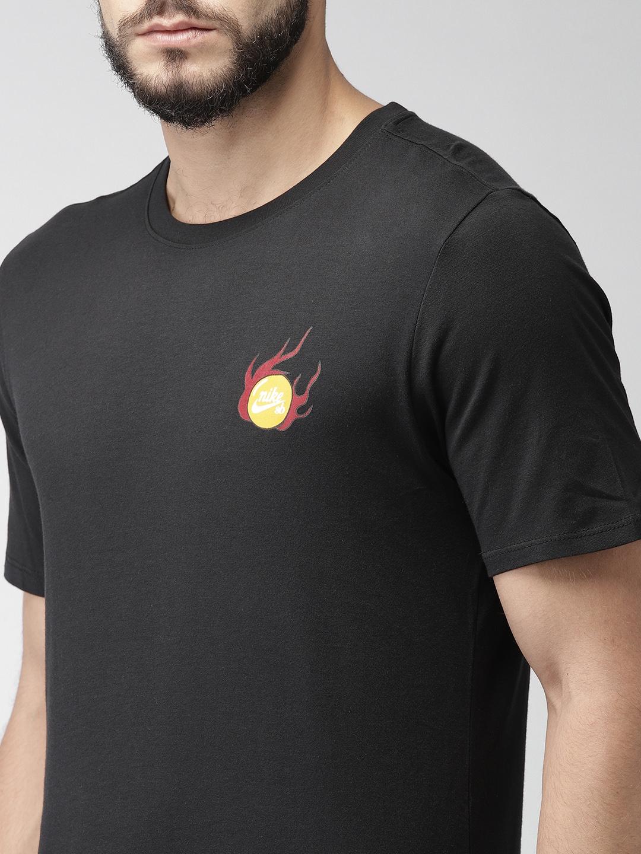 2a88911df Buy Nike Men Black SB TEE DRAGON Standard Fit T Shirt - Tshirts for ...