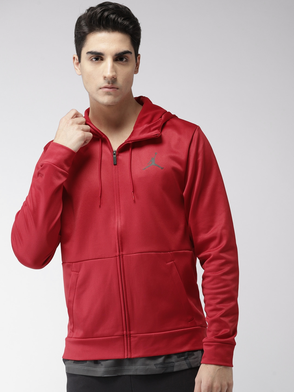 official photos dcbec 6b9da Nike Red 23 ALPHA THERMA FZ HOODIE Sweatshirt