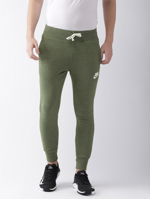 1cfbdcd502298 Buy Nike Men Green Standard Fit AS M NSW Sportswear Heritage Joggers ...