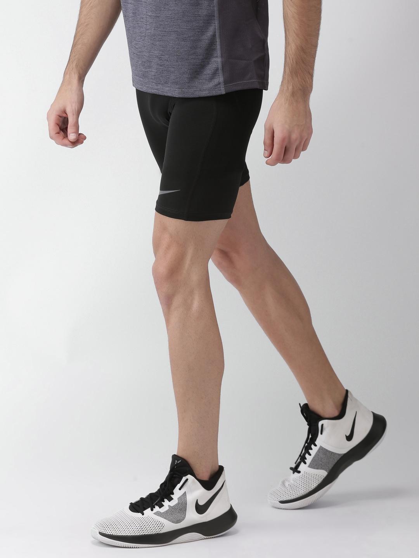 d902dac3b5 Buy Nike Men Pro HyperCool Men Black Compression Sports Tights ...
