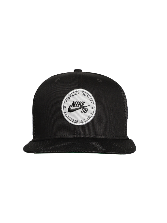 2254dbae352 Buy Nike Unisex Black U NK PRO PATCH TRUCKER Visor Cap - Caps for ...