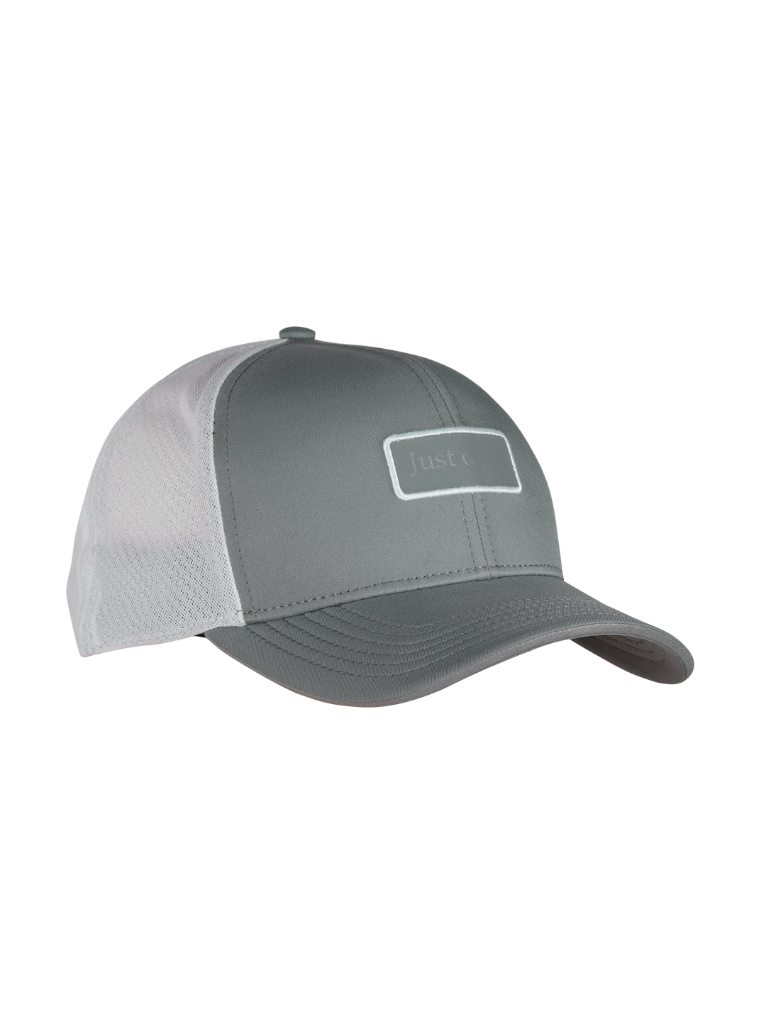 b3863ae45eccb Buy Nike Unisex Grey   White Colourblocked Baseball Cap - Caps for ...