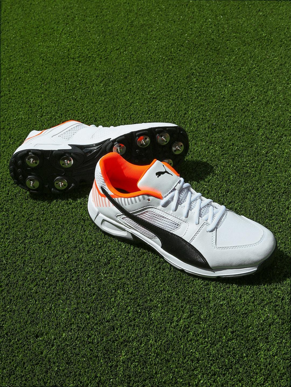 84c8982d353962 Buy Puma Men White Team Full Spike II Football Shoes - Sports Shoes ...