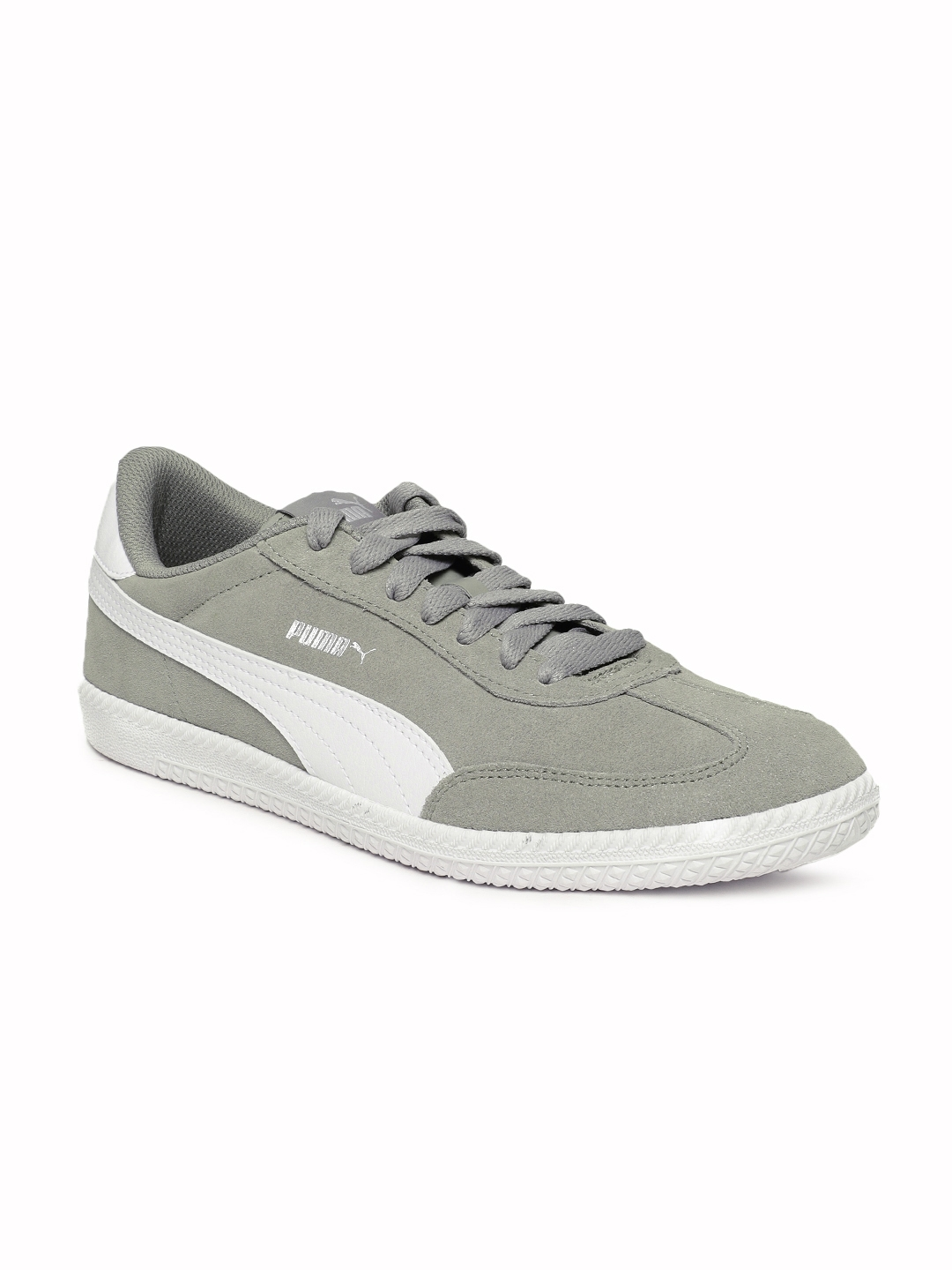 sports shoes 5d37a 59424 Puma Men Grey Astro Cup Suede Sneakers