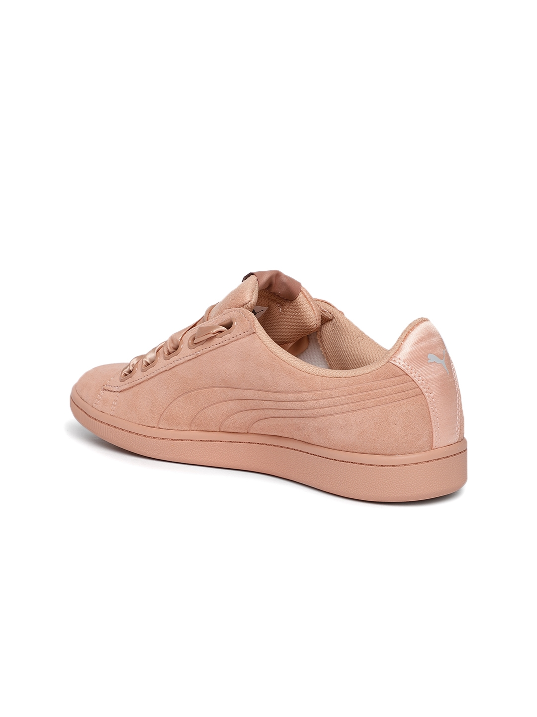 d0793d4be532 Buy Puma Women Brown Vikky Ribbon Suede Sneakers - Casual Shoes for ...