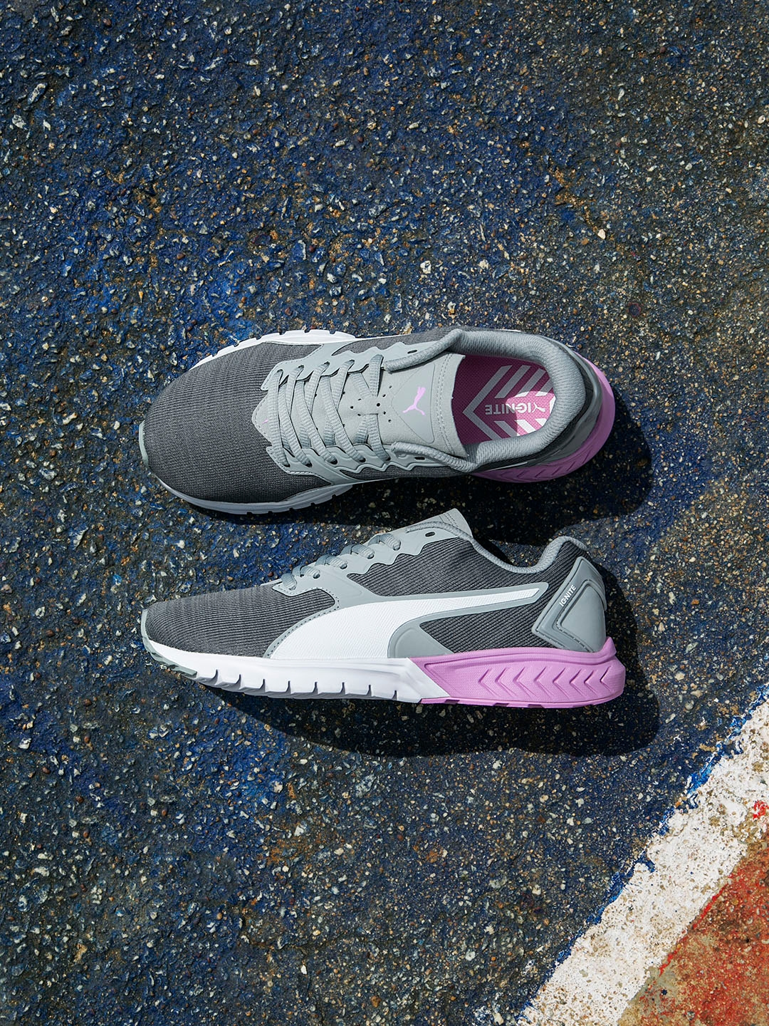 a3174c53278 Buy Puma Women Grey IGNITE Dual NM Running Shoes - Sports Shoes for ...